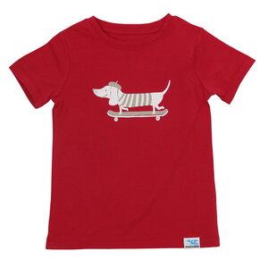 IceDrake Kinder T-Shirt Dackel (rot) - IceDrake