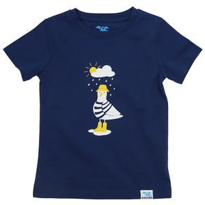 IceDrake Kinder T-Shirt Möwe (dunkelblau) - IceDrake