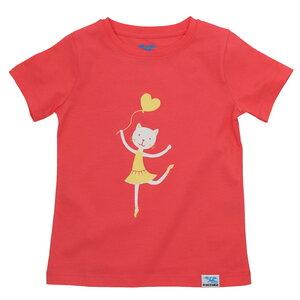 IceDrake Kinder T-Shirt Katze (koralle) - IceDrake