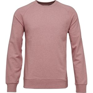 Sweatshirt - Sweat melange with raglan - Orchid Pink - KnowledgeCotton Apparel