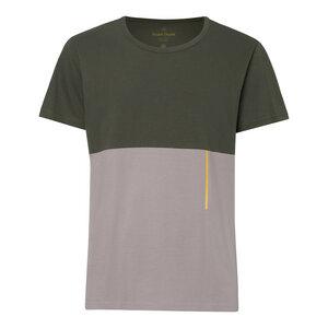 TT65 T-Shirt Herren Moosgrün/Grau - THOKKTHOKK