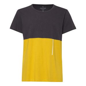 TT65 T-Shirt Dunkelgrau/Gelb Bio Fair - THOKKTHOKK
