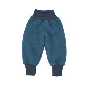 Kinder Wollfleecehose, saphirblau - mimoya