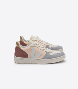 SNEAKER - V-10 LEATHER MULTICO NUDE - Veja