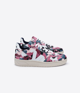 SNEAKER - V-10 LEATHER DAZZLE WHITE - Veja