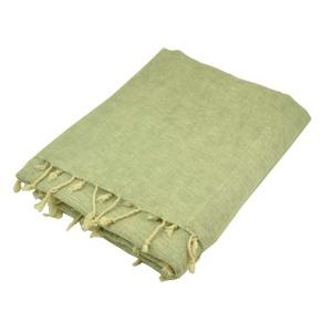 Indra - Plaid oder Wohndecke mit 'Yakwolle' - leicht grau cream - MoreThanHip