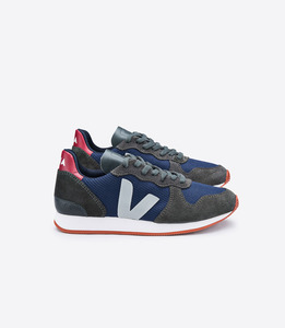 HOLIDAY LOW TOP B-MESH NAUTICO GRAFITE OXFORD GREY - Veja