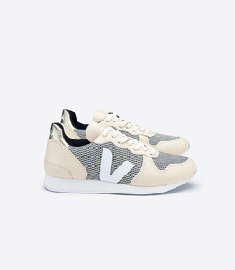 HOLIDAY LOW TOP B-MESH SMART GOLD - Veja