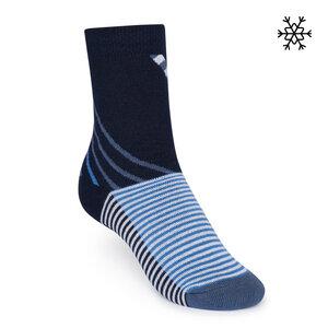 Plüsch Socken Nizza High-Top blau Bio & Fair - THOKKTHOKK