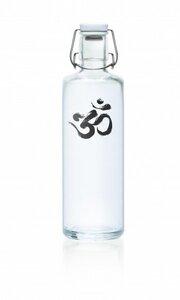 1 Liter Soulbottles Trinkflasche aus Glas - Made in Germany Motiv OM - soulbottles