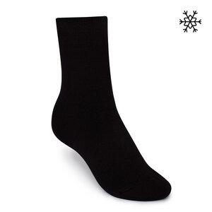 Plüsch Socken Solid High-Top schwarz Bio & Fair - ThokkThokk