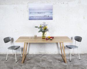 Esstisch Eiche, Großes Naturholztisch - Hardman Design & Build