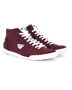 be free – Sneaker High-Cut bordeaux - be free shoes