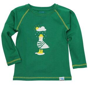 IceDrake Kinder Langarm-Shirt Möwe (grün) - IceDrake