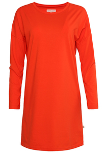 Basic Kleid - börd shört