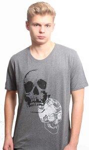 YTWOO Herren T-Shirt mit Totenkopf, Skull als Motiv - YTWOO