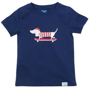 IceDrake Kinder T-Shirt Dackel (blau) - IceDrake