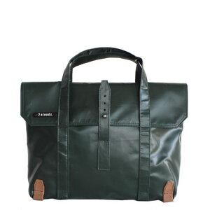 Laptop-Messenger Feldhas 7.1 jungle green aus wasserfestem Persenning  - 7clouds