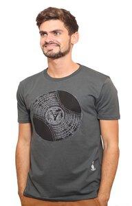 Herren T-Shirt mit Schallplatte  - YTWOO