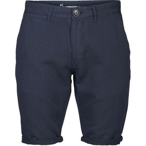 Reactive dyed chino shorts - Total Eclipse - KnowledgeCotton Apparel