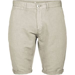 Reactive dyed chino shorts - Light feather gray - KnowledgeCotton Apparel