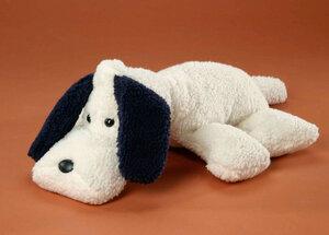 Super kuscheliger Schlenker- Hund Schlappi 40 cm aus Teddyplüsch. 100 % kbA Baumwolle - Erich Bohl