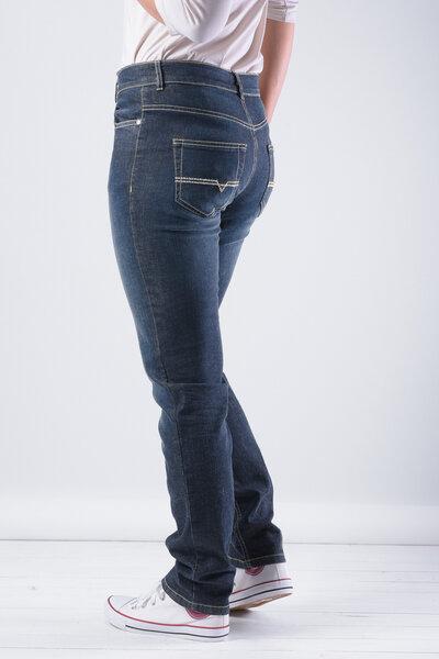 10a49cc8a7d11 Damenhose Jeansblau Bio-Baumwolle