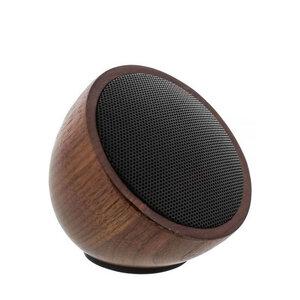 Mini Bluetooth Walnuss-Holz-Lautsprecher - InLine