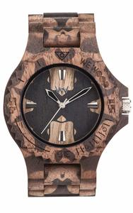 WeWood Date Nature Mirror Nut - Armbanduhr aus Holz   - Wewood