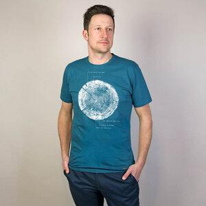 Shirt Liferings aus Modal®-Mix Petrol - Gary Mash