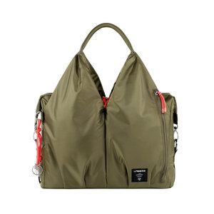 Lässig Wickeltasche Green Label  Neckline Bag  Pop olive super - Lässig