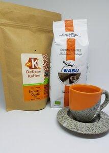 Espresso Liebhaber Geschenkset Nr. 2 - ganze Bohne - DeKene, Original Food