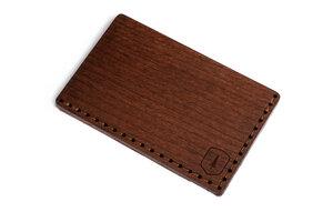 "Kartenhalter aus Holz ""Brunn Note"" - BeWooden"