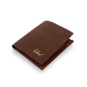 Jacroki® Paper Geldbeutel Schokoladenbraun - bleed