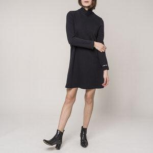 Kleid TOULOUSE RIB black  - JAN N JUNE