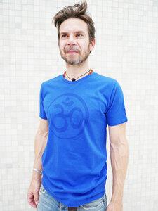 Yoga T-Shirt 'OM Wellen' - YogiCompany