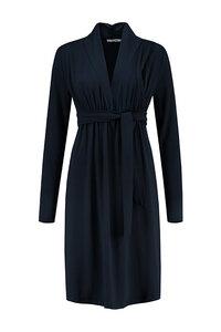 dunkelblaues Umstandskleid Stillkleid GOTS - Love2Wait