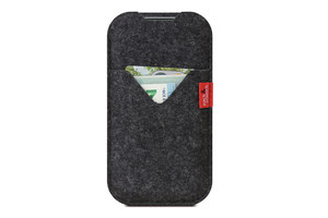 iPhone 5S / SE (2016) wallet case SHETLAND (Mulesing-frei) - Pack & Smooch