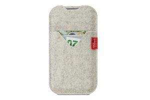 iPhone 5S / SE (2016) wallet case SHETLAND (Mulesing-frei) - Pack & Smooch