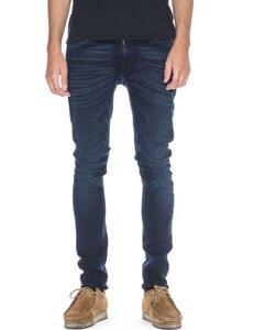 Skinny Lin Blackend Indigo - Nudie Jeans