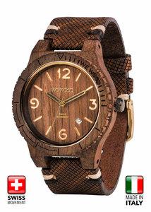 WeWood ALPHA SW Armbanduhr aus Holz - Wewood