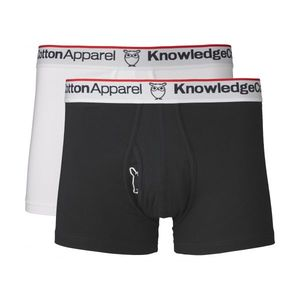 Underwear 2 Pack in Total Eclipse - GOTS - dunkelblaue Unterhosen - KnowledgeCotton Apparel