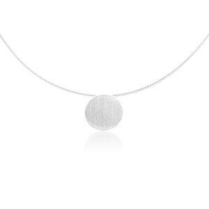 Silber Kette Kreis Fair-Trade und handmade - pakilia
