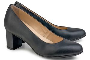 Anna Microfibre Black - Eco Vegan Shoes