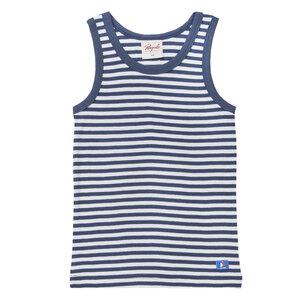 Unterhemd - blau - People Wear Organic
