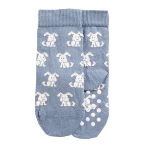Socken mit Noppen Hund1 Biobaumwolle - VNS Organic