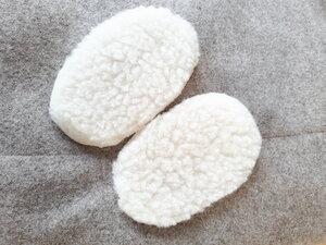 Schurwolleinlagen für Wollschuhe von Süßstoff  - Süßstoff
