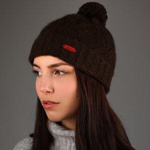 Mütze Tuul aus Yakwolle braun - mongs®