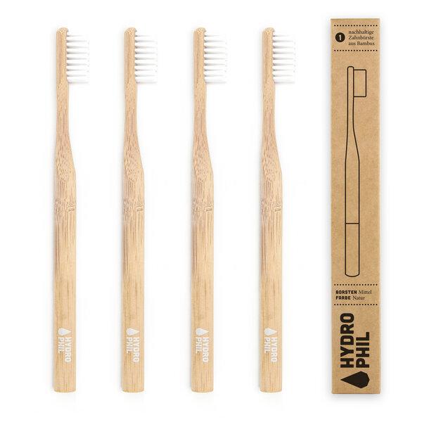 Hydrophil Bambus Zahnburste Pack Natur Avocadostore