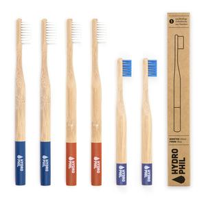 Bambus Zahnbürste Familien Packung - HYDROPHIL
